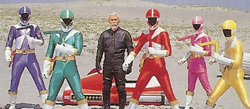 Pics for gaoranger vs timeranger for Domon plan b