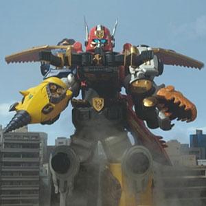 Gosei Great Grand Megazord